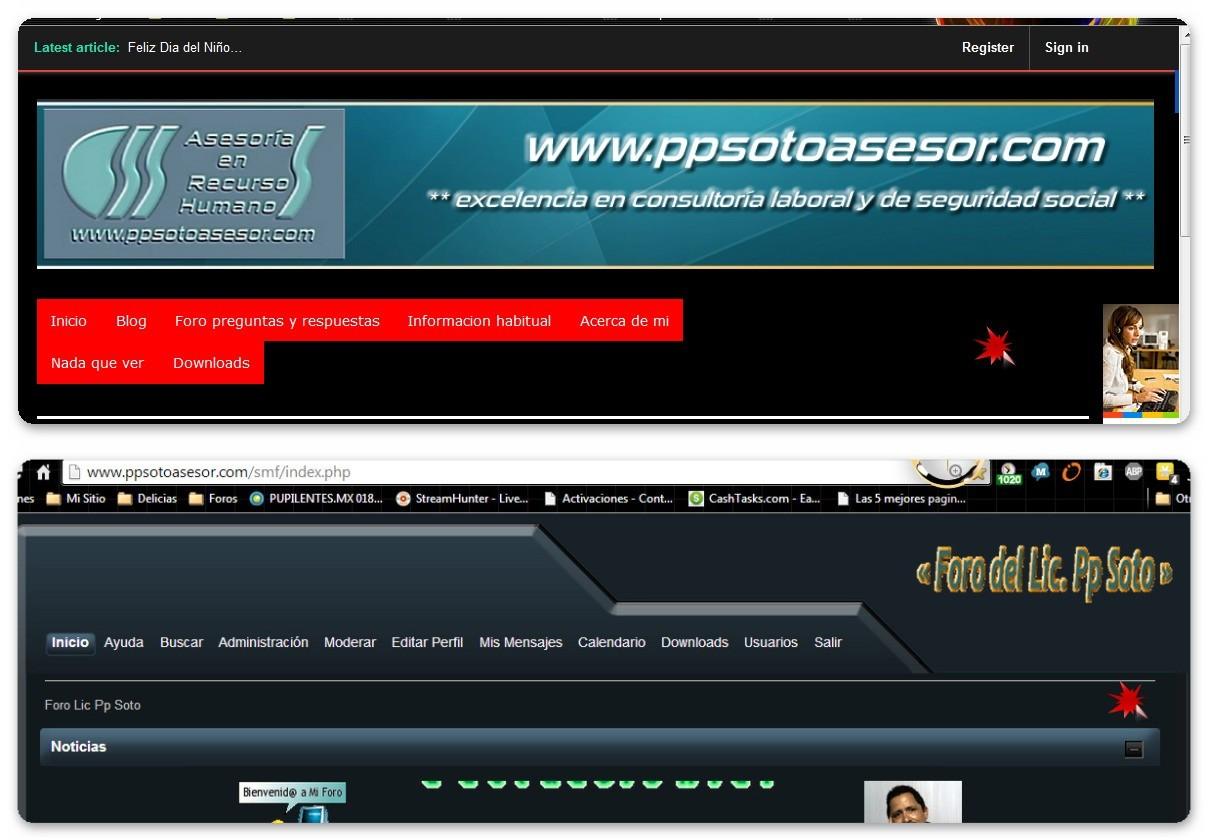 foro + blog